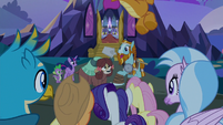 Rockhoof tells the students another story S8E21