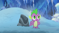 Spike --I know you're in here!-- S6E16