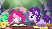Starlight Glimmer --only gone a few minutes!-- S6E21
