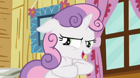 Sweetie Belle looking sinister S3E06