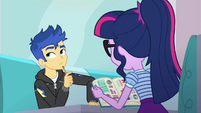 Twilight Sparkle tutoring Flash Sentry EGDS24