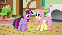"Twilight and Fluttershy ""we need your help"" S03E13"
