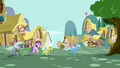 Angry ponies still chasing Trixie S7E2.png