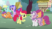 Apple Bloom --one thing is for sure-- S6E4