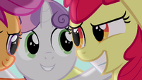 Apple Bloom grin S4E15
