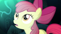 Apple Bloom surprised by Luna's appearance S5E4.png