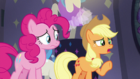 Applejack -sure that's even Fluttershy-- S8E4