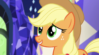 Applejack -we had a lot of good memories there- S5E3