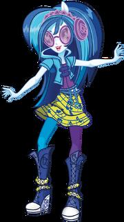 DJ PON-3 Rainbow Rocks character bio art 2