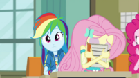 Fluttershy hiding her face in fear EGDS6