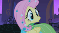 Fluttershy turns around to Mr. Greenhooves S1E26.png