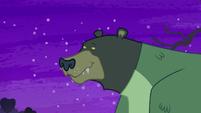 Monster revealed to be Harry the bear S5E21