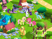 My Little Pony mobile game screenshot 1