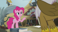 Pinkie -You just helped your friend up- S5E8