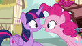 """Pinkie Pie """"I even had somepony come"""" S7E14.png"""