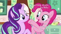 Pinkie and Starlight at Sugarcube Corner S6E6
