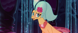 Princess Skystar masking her disappointment MLPTM