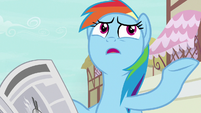 "Rainbow Dash ""secret pony adventurer of all time"" S7E18"