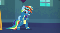 Rainbow Dash --just gotta go out there-- S6E7