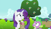 "Rarity ""adorable!"" S4E23"