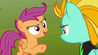 "Scootaloo ""what if I joined and dropped out"" S8E20"