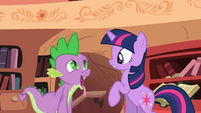 Spike marveling at his surroundings S2E10