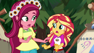 """Sunset Shimmer """"what did you say?"""" EG4"""