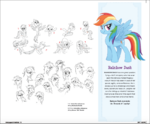 The Art of MLP The Movie page 13 - Rainbow Dash concept art