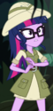 Twilight Sparkle jungle adventurer ID EGS1