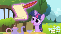 Twilight make quite S1E17
