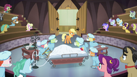Young Applejack admits to her lies S6E23