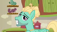 Zephyr Breeze grinning confidently S6E11