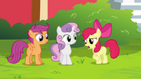 "Apple Bloom ""invitin' two ponies to Twilight Time"" S4E15"
