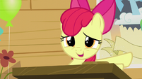 Apple Bloom -could just sit quietly in the corner- S5E4