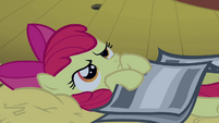 Apple Bloom trying to sleep S3E04