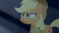 Applejack looking at Rainbow slyly S6E15.png