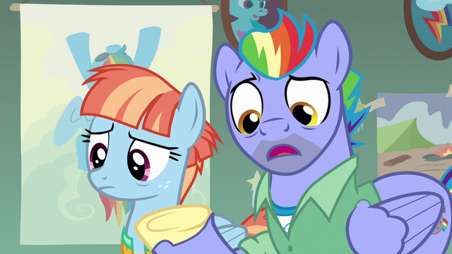 "File:Bow Hothoof ""collection of Wonderbolt memorabilia"" S7E7.png"