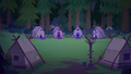 Camp Everfree tent area at nighttime EG4.png