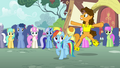 Cheese dancing for Rainbow S4E12.png