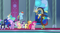 "Discord ""pretended to be very hurt"" S9E2"