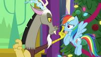 Discord silencing Rainbow Dash MLPBGE