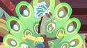 Discord with peacock plumage S7E12
