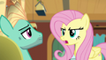 """Fluttershy """"finish something for once"""" S6E11.png"""
