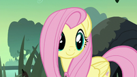 Fluttershy happy for her animal friends S7E25