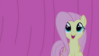 Fluttershy is happy S4E14
