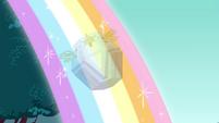 Harmony chest riding the rainbow S4E26