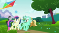 Lyra and Sweetie Drops flying a kite S6E6.png