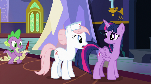 """File:Nurse Redheart """"really do need cheering up"""" S7E3.png"""
