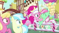 "Pinkie Pie ""marvel at the mint chip!"" MLPS5"