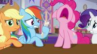 Pinkie Pie imitating snoring S8E1